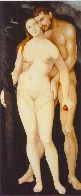 Adam And Eve 1531 | Hans Baldung Grien | Oil Painting