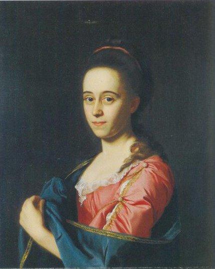 Mrs Joshua Henshaw Ll Catherine Hill 1772 | John Singleton Copley | Oil Painting
