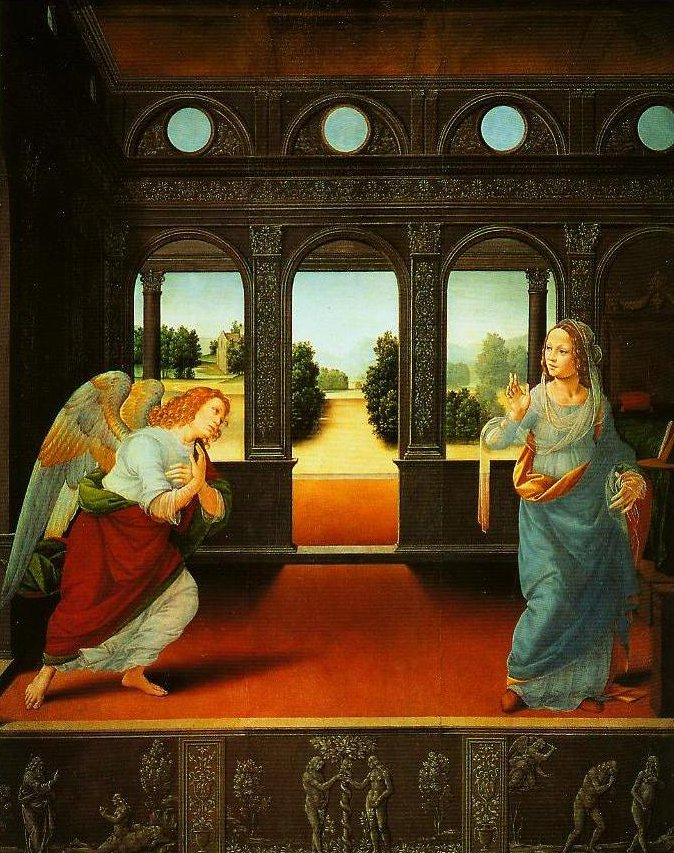 The Annunciation | Lorenzo Di Credi | Oil Painting