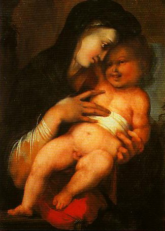 Madonna and Child | Alonso Berruguete | Oil Painting