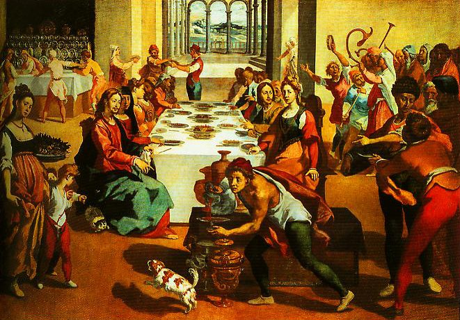 The Marriage at Cana | Andrea Boscoli | Oil Painting