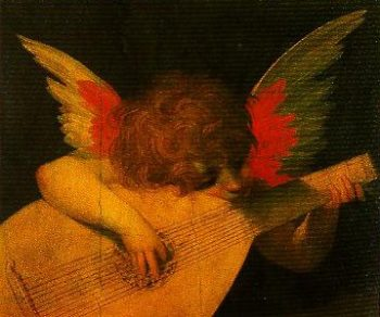 Angel Musician | Rosso Fiorentino | Oil Painting