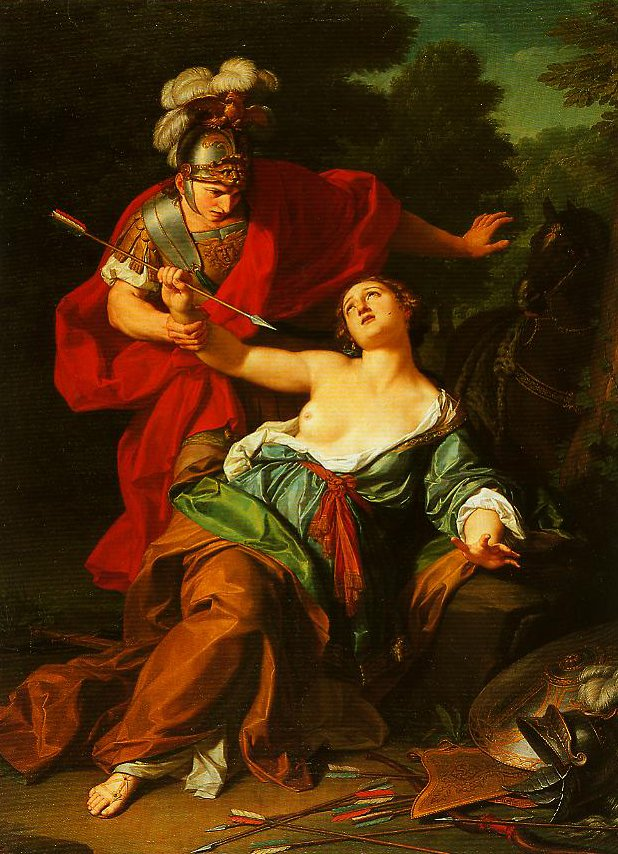 Armidas Attempt to Kill Herself | Giuseppe Bottani | Oil Painting