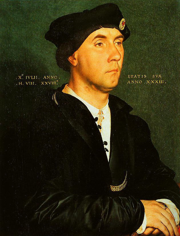Portrait of Sir Richard Southwell | Hans Holbein The Younger | Oil Painting