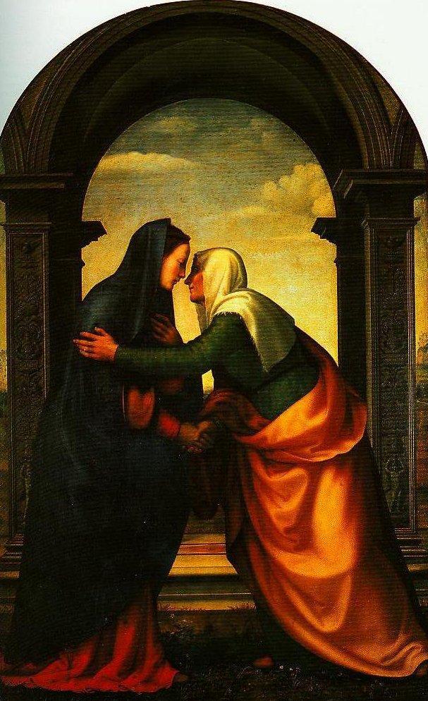 The Visitation | Mariotto Albertinelli | Oil Painting