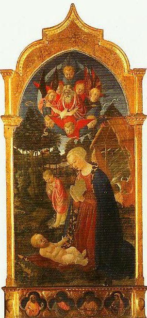 Adoration of the Child | Master of The Casstello Nativity | Oil Painting