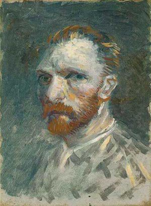 Self Portrait 5 1887 | Vincent Van Gogh | oil painting