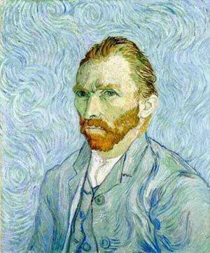 Self Portrait 1889   Vincent Van Gogh   oil painting