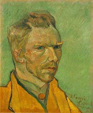 Self Portrait 1888 | Vincent Van Gogh | oil painting
