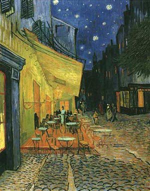 Cafe Terrace On The Place Du Forum 1888 | Vincent Van Gogh | oil painting