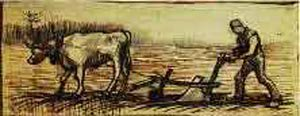 At The Plough | Vincent Van Gogh | oil painting