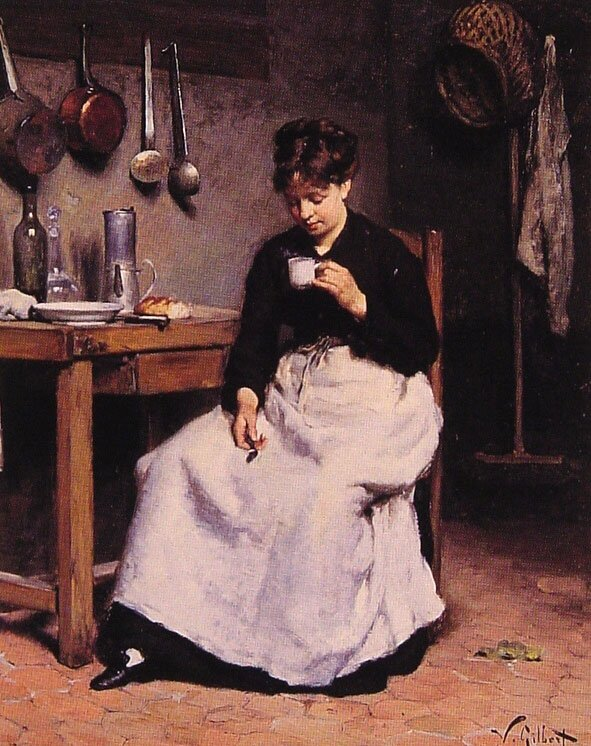 Victor Gilbert -Cup of coffee