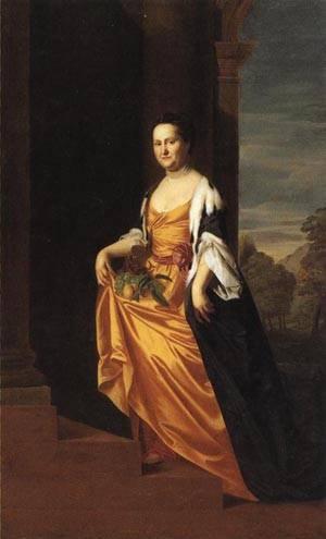 Mrs Jeremiah Lee 1769 | John Singleton Copley | oil painting