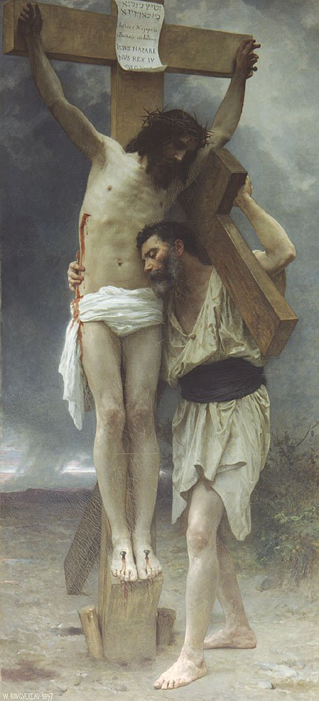 Compassion | William Bouguereau | oil painting