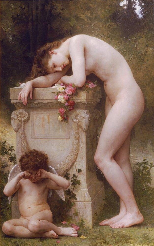Douleur Damour | William Bouguereau | oil painting