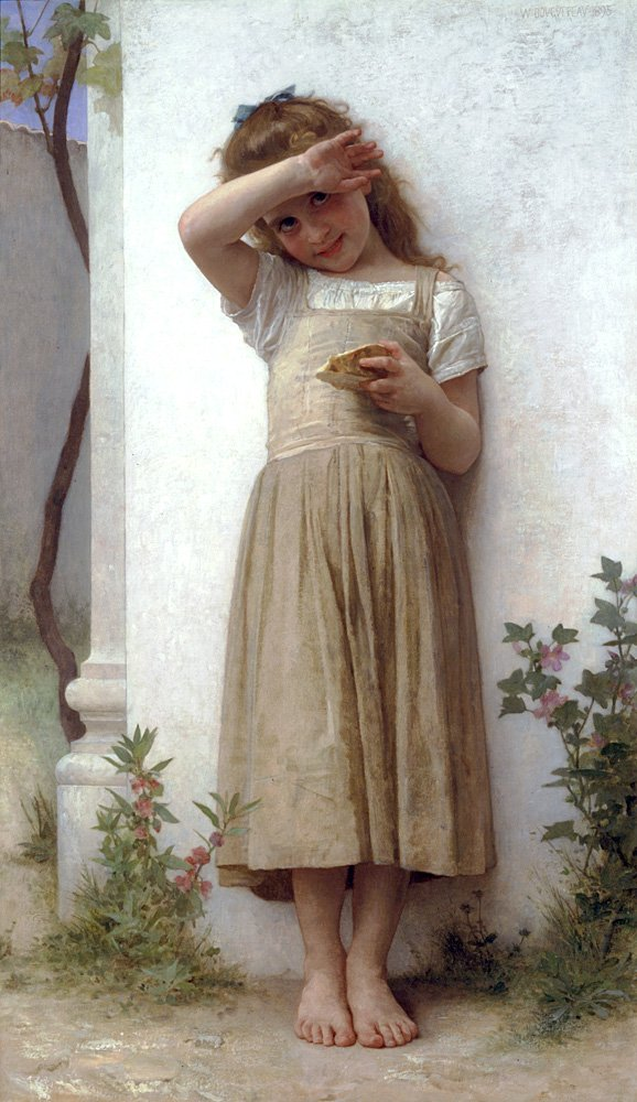En Penitence | William Bouguereau | oil painting