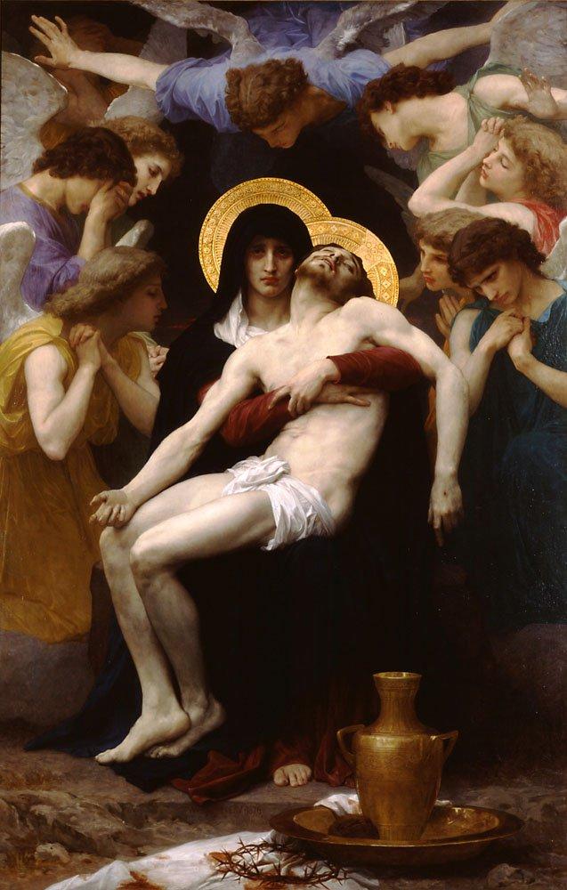 Pieta 1876 | William Bouguereau | oil painting