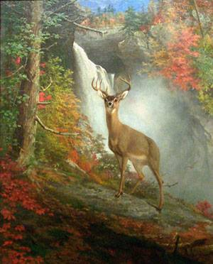 Majestic Stag | William Holbrook Beard | oil painting