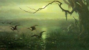 Phantom Crane   William Holbrook Beard   oil painting