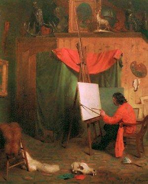 Self   William Holbrook Beard   oil painting