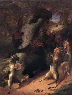 The March Of Silenus | William Holbrook Beard | oil painting