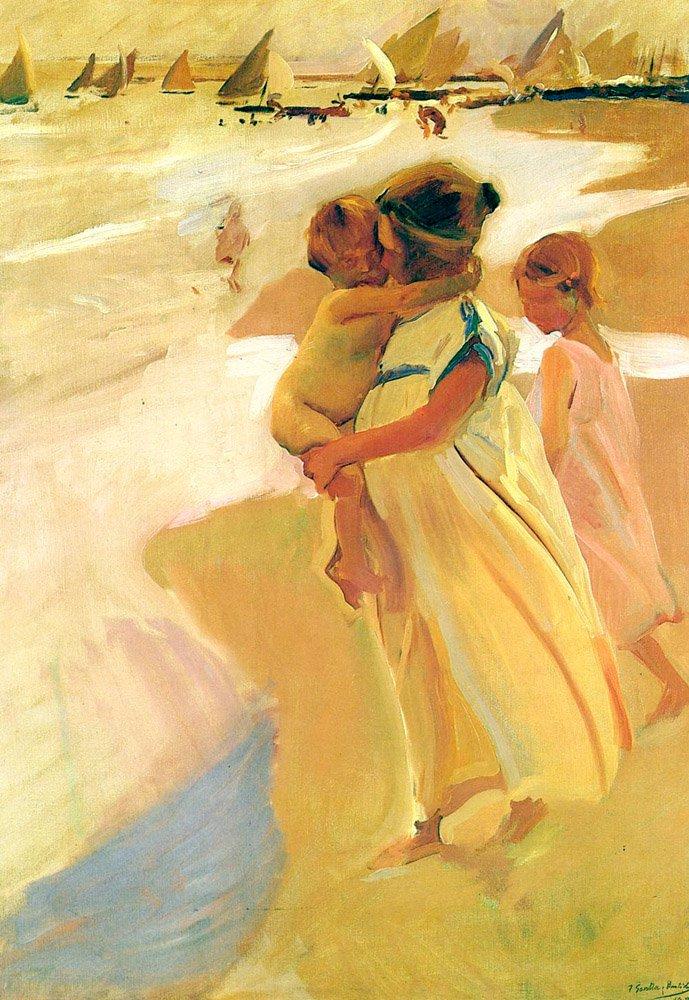 Al bano-Valencia | Joaquin Y Bastida Sorolla | oil painting