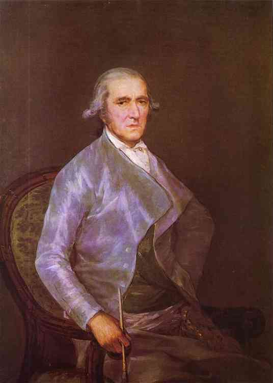 Portrait Of Francisco Bayeu 1795 | Francisco De Goya | oil painting