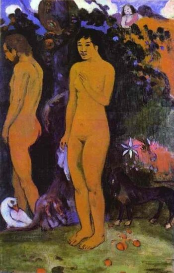 Adam and Eve 1902 | Paul Gauguin | oil painting