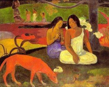 Arearea (aka Joyousness) 1892 | Paul Gauguin | oil painting
