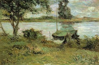 Banks of the Oise 1881 | Paul Gauguin | oil painting