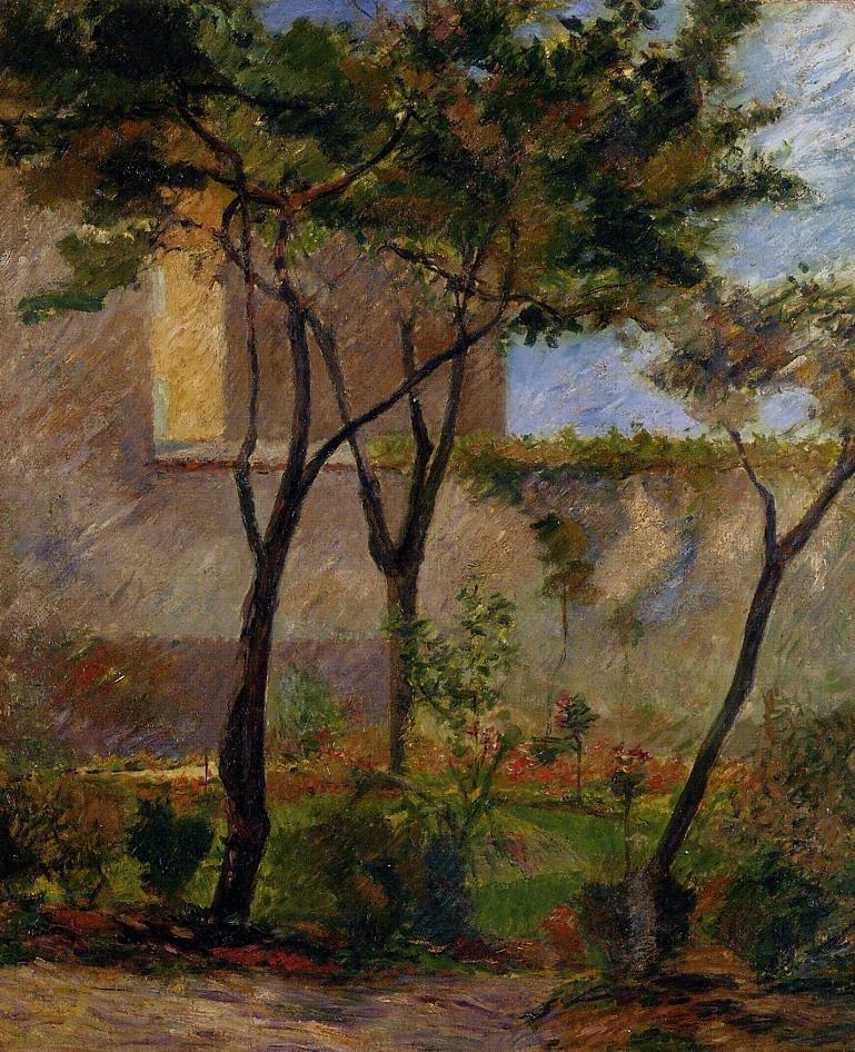 Corner of the Garden rue Carcel 1881 1882 | Paul Gauguin | oil painting