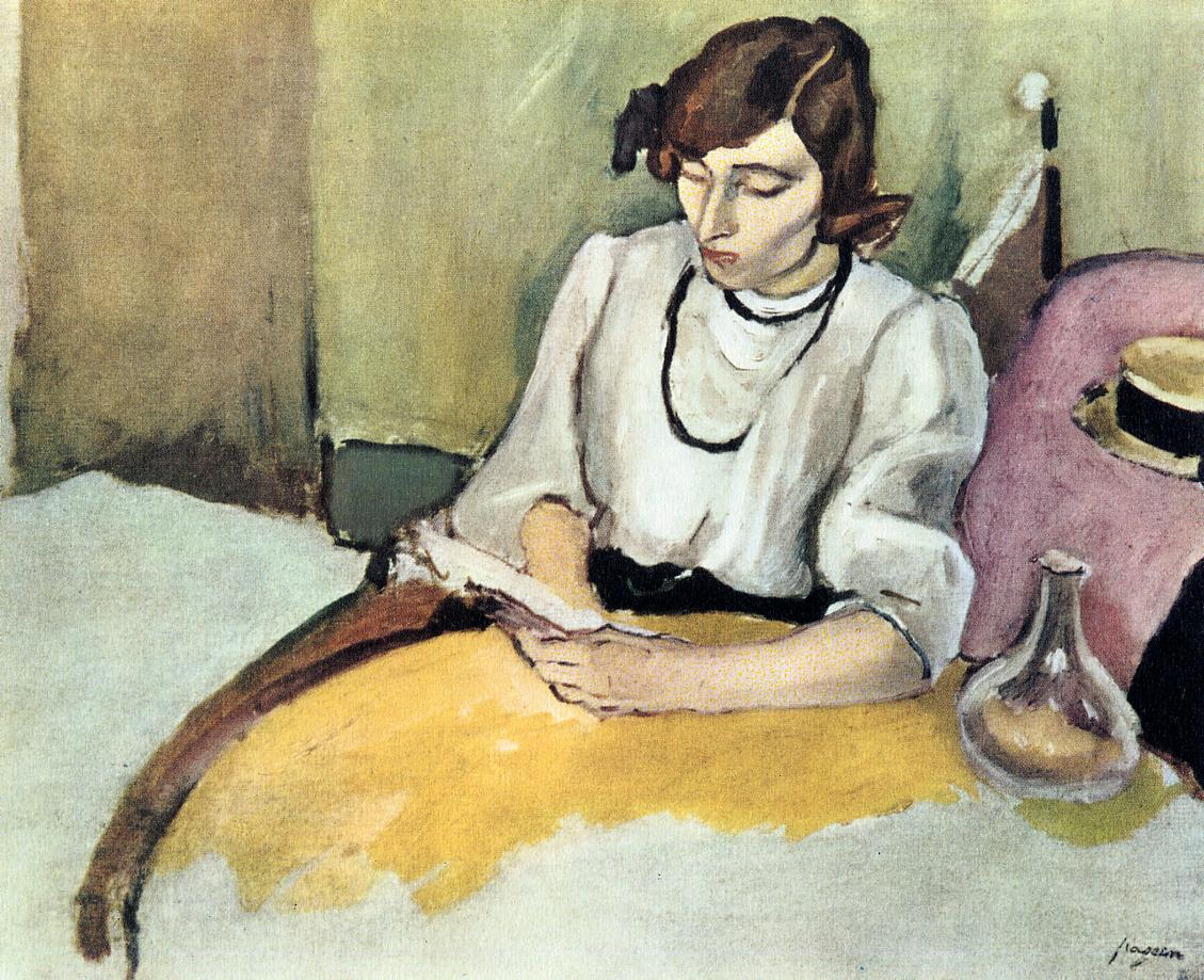 Portrait of Hermine David 1908-1910 | Jules Pascin | oil painting