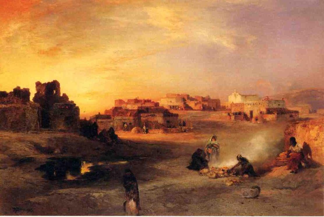 Indian Pueblo Laguna New Mexico 1905