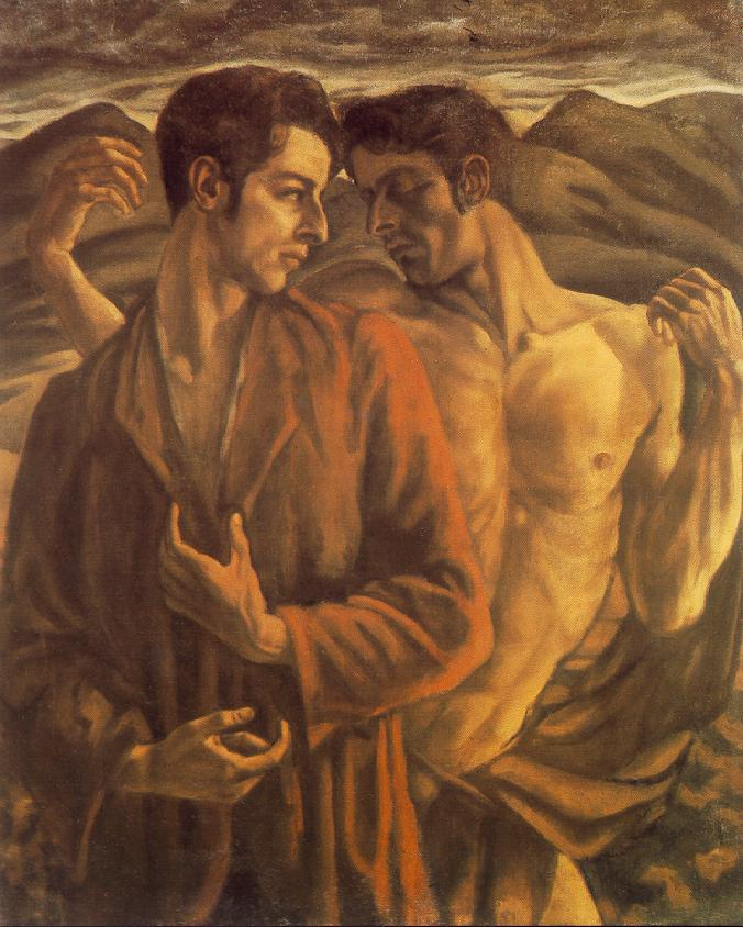 Alterego 1920 | Erzsebet Korb | oil painting