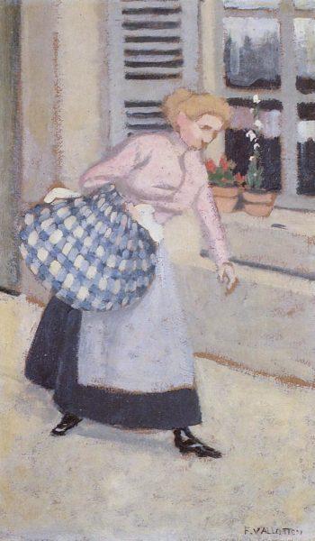 The Laundress 1895 | Felix Vallotton | oil painting