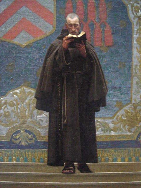 L Eminence Grise   Jean Leon Gerome   oil painting