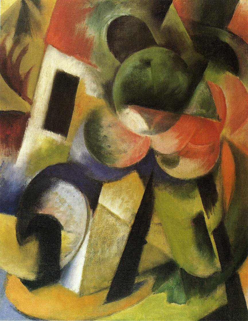 Small Composition II 1914 | Franz Marc | oil painting