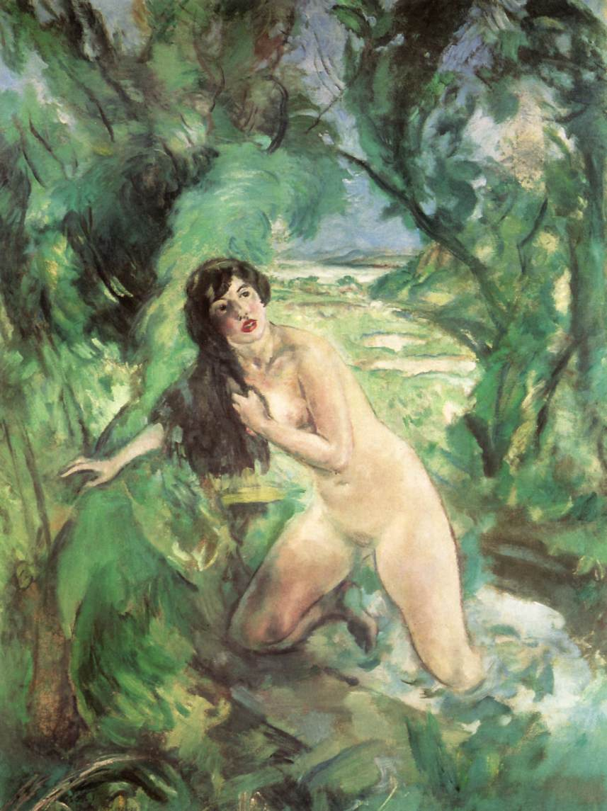 Bathing Woman Susanna 1920 28