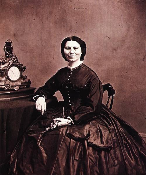 Clara Barton 1866 | Mathew Brady | oil painting