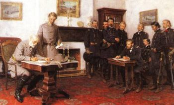 The Surrender At Appomattox 1865 | Thomas Lovell | oil painting