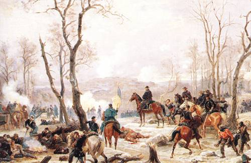 General Grant At Fort Donelson | Paul Philippoteaux | oil painting