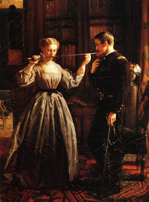 The Consecration 1861 | George Cochrane Lambdin | oil painting