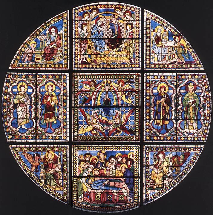 Window | Duccio di buoninsegna | oil painting