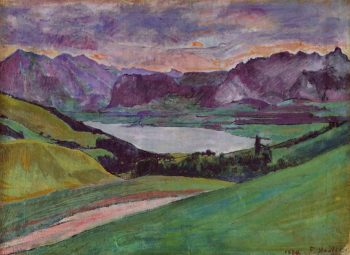 Thunersee Date unknown | Ferdinand Hodler | oil painting