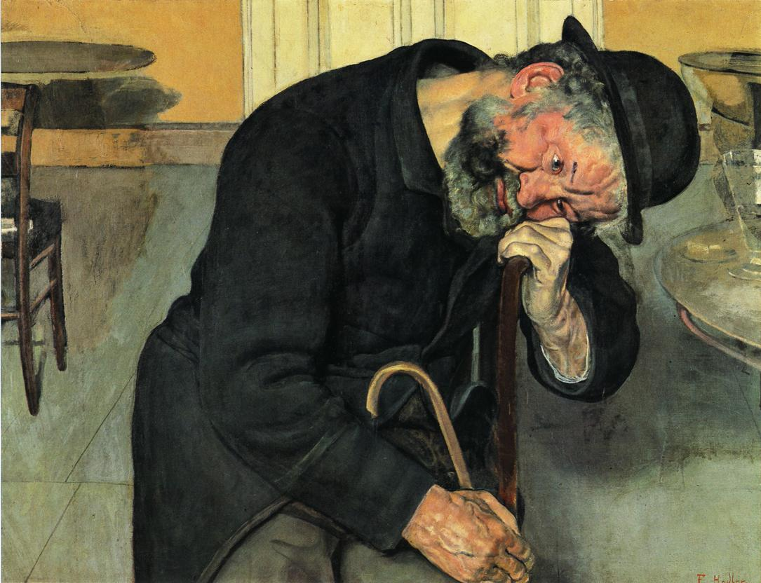 A Troubled Soul Date unknown | Ferdinand Hodler | oil painting