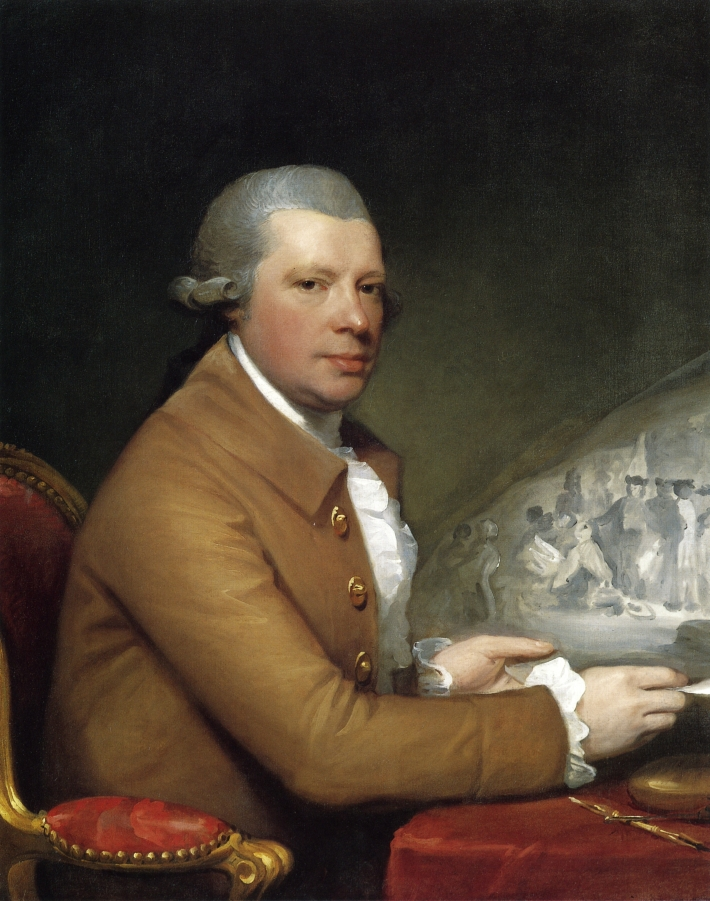 John Hall 1783 1784 | Gilbert Stuart | oil painting
