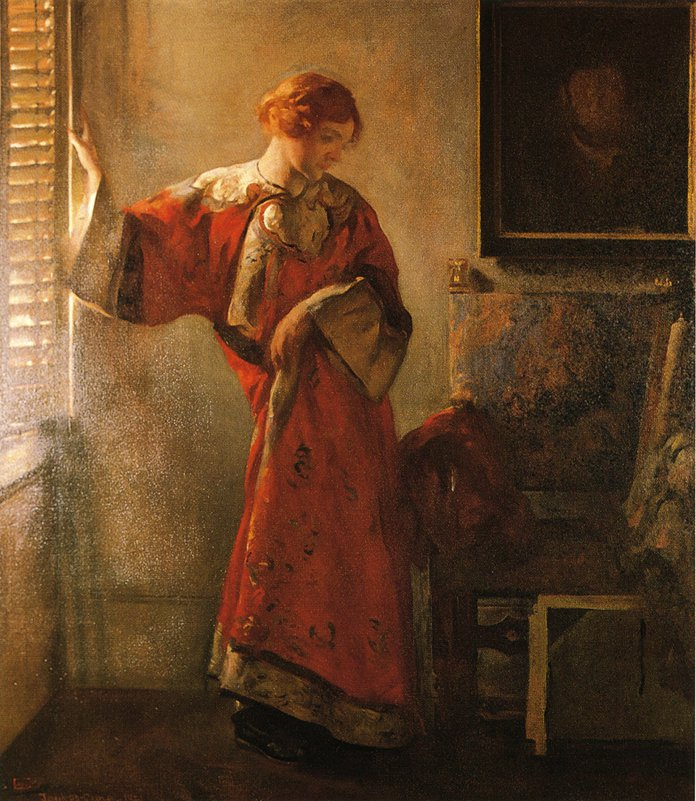 The Window Blind 1921 | Joseph deCamp | oil painting