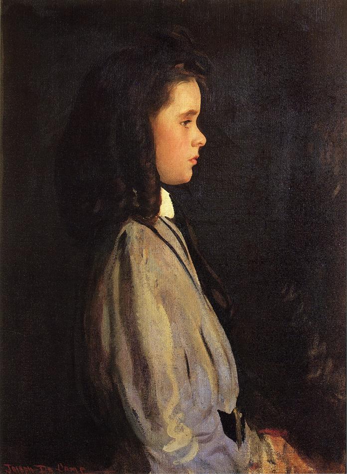 Pauline 1907 | Joseph deCamp | oil painting