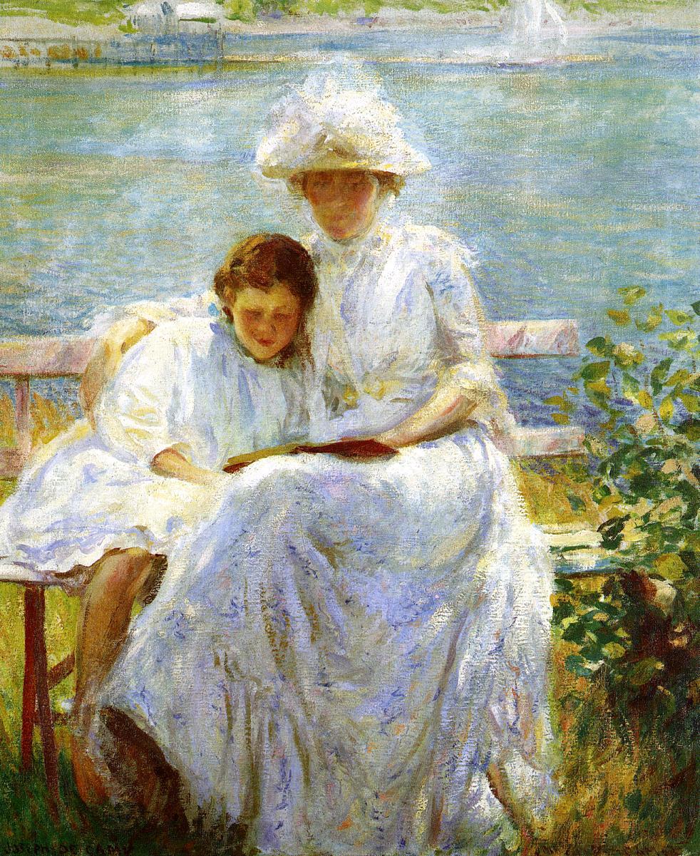 June Sunlight 1902 | Joseph deCamp | oil painting
