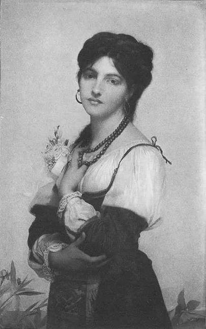 A Bride of Sorrento | Jules Joseph Lefebvre | oil painting